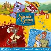 01: Der Gestiefelte Kater/Rapunzel, CD