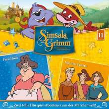 SimsalaGrimm 11: Frau Holle / Die drei Federn, CD