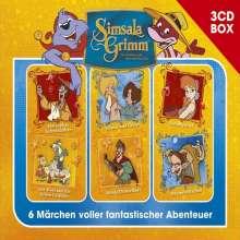 SimsalaGrimm Hörspielbox Vol. 2, 3 CDs