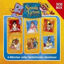 SimsalaGrimm Hörspielbox Vol. 4, 3 CDs
