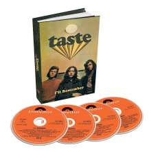 Taste: I'll Remember, 4 CDs