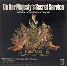 John Barry (1933-2011): Filmmusik: On Her Majesty's Secret Service (O.S.T.), LP