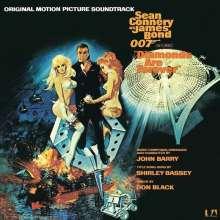 John Barry (1933-2011): Filmmusik: Diamonds Are Forever (O.S.T.), LP