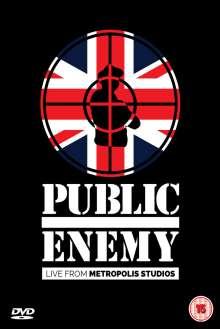 Public Enemy: Live From Metropolis Studios 2014, DVD