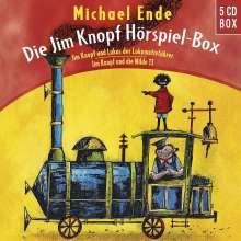Die Jim Knopf Hörspiel-Box, 5 CDs