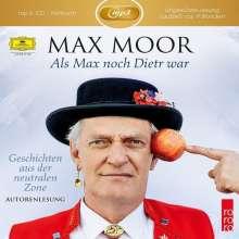 Als Max noch Dietr war - Geschichten aus der neutralen Zone, 2 MP3-CDs