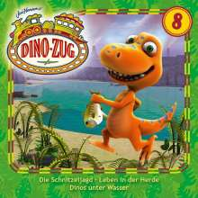 Der Dino-Zug 08: Schnitzeljagd / Leben in der Herde / Dinos und Wasser, CD