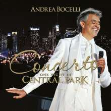 Andrea Bocelli - One Night In Central Park, CD