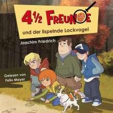 Joachim Friedrich: 4 1/2 Freunde (01) und der lispelnde Lockvogel, CD