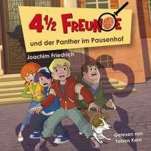 Joachim Friedrich: 4 1/2 Freunde (02) und der Panther im Pausenhof, CD