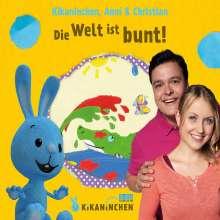 Kikaninchen, Anni & Christian: Die Welt ist bunt! Das 3. Album, CD