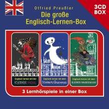 Die Große Englisch-Lernen-Box, 3 CDs