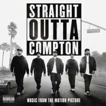 Filmmusik: Straight Outta Compton (Explicit), CD