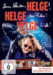 Helge Schneider: Lass knacken, Helge! Helge, der Film! Helge Life! (DVD + CD), 1 DVD und 1 CD