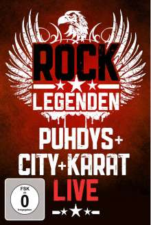 Puhdys + City + Karat: Rock Legenden Live, DVD