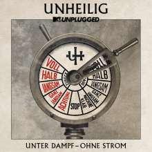 Unheilig: MTV Unplugged »Unter Dampf – Ohne Strom«, 2 CDs