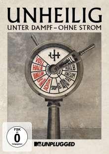 Unheilig: MTV Unplugged »Unter Dampf – Ohne Strom«, 2 DVDs
