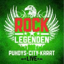 Puhdys + City + Karat: Rock Legenden Live, 2 CDs