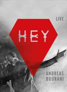 Andreas Bourani: Hey Live (Limited Fan-Edition), 4 CDs