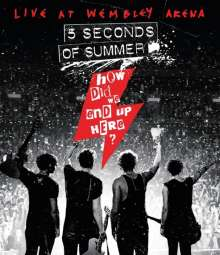 5 Seconds Of Summer: How Did We End Up Here? (Live At Wembley Arena), Blu-ray Disc