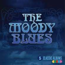 The Moody Blues: 5 Classic Albums, 5 CDs