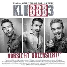 Klubbb3: Vorsicht unzensiert!, CD