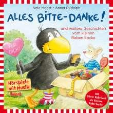 Rabe Socke-Alles Bitte-Danke!, CD