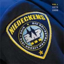 Niedeckens BAP: Die beliebtesten Lieder Vol.1 (1976 - 1998) (180g), 2 LPs