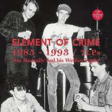 Element Of Crime: 1985-1993 (180g) (Strictly Limited Edition Box Set), 7 LPs