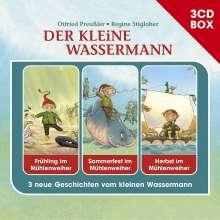 Der Kleine Wassermann-3-CD Hörspielbox, 3 CDs