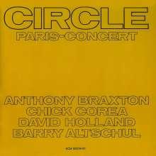 Circle (Anthony Braxton, Chick Corea David Holland & Barry Altschul): Paris Concert (180g), 2 LPs