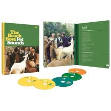 The Beach Boys: Pet Sounds (Limited 50th Anniversary Edition Boxset), 5 CDs