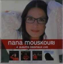 Nana Mouskouri: 4 Albums Originaux (Live), 5 CDs