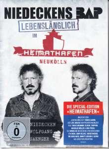Niedeckens BAP: Lebenslänglich im Heimathafen (Special-Edition), 3 CDs und 1 DVD