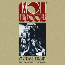 Mott The Hoople: Mental Train: The Island Years 1969 - 1971 (Limited-Edition), 6 CDs