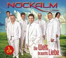 Nockalm Quintett: Die Welt braucht Liebe, 3 CDs