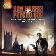 Don Harris - Psycho Cop - Die komplette Hörspielserie - 10 Folgen (2mp3 CDs), 2 MP3-CDs