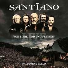 Santiano: Von Liebe, Tod und Freiheit: Live Waldbühne Berlin, 2 CDs