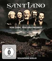 Santiano: Von Liebe, Tod und Freiheit: Live Waldbühne Berlin, Blu-ray Disc