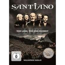 Santiano: Von Liebe, Tod und Freiheit: Live Waldbühne Berlin (Limited Deluxe Edition), 3 CDs