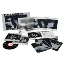 Public Image Limited (P. I.L.): Metal Box (remastered) (Super-Deluxe-Edition), 4 LPs
