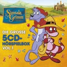 Simsalagrimm-Die Große 5-CD Hörspielbox Vol.1, 5 CDs