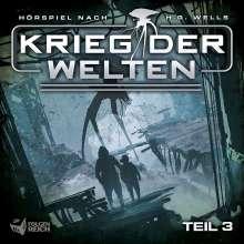 Krieg Der Welten - Teil 3 (Hörspiel), CD
