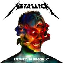 Metallica: Hardwired… To Self-Destruct (180g) (Limited-Deluxe-Edition) (Blue/ Red/ Yellow Vinyl), 3 LPs