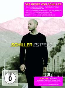 Schiller: Zeitreise - Das Beste von Schiller (Limited-Super-Edition), 3 CDs und 1 DVD