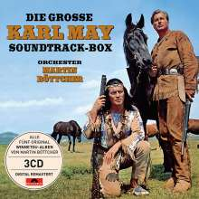 Martin Böttcher: Filmmusik: Die große Karl May Soundtrack-Box, 3 CDs