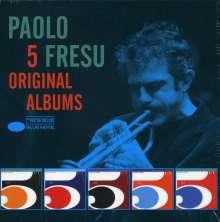 Paolo Fresu (geb. 1961): 5 Original Albums, 5 CDs