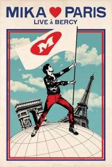 Mika: Mika Love Paris: Live À Bercy, Blu-ray Disc