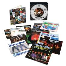 """Status Quo: The Vinyl Singles Collection 1980-1984 (Limited-Edition), 12 Single 7""""s"""