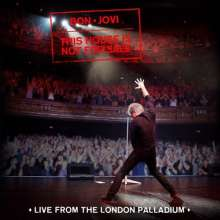 Bon Jovi: This House Is Not For Sale: Live From The London Palladium, CD